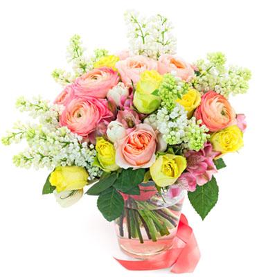 kwiatowa przesyłka
