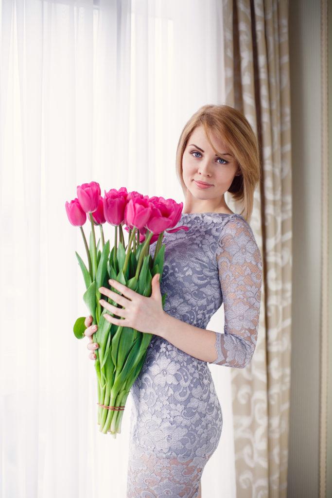 kwiaty na Dzień Kobiet