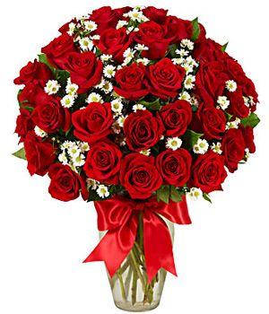 Kocham Cię - Bukiet De Luxe - Kwiaciarnia i Poczta. Najlepsza Kwiatowa  Wysyłka Internetowa w Polsce